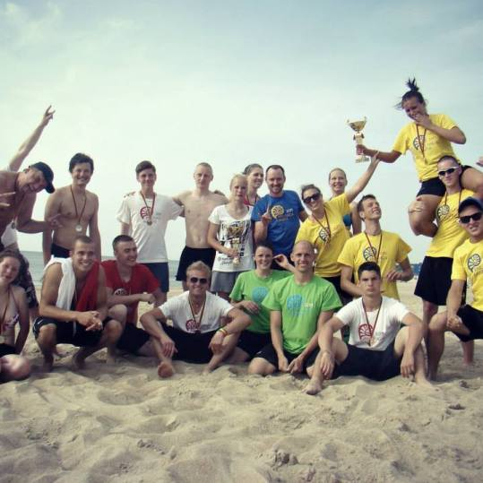 Palanga Sands HAT 2013 beach ultimate lithuania