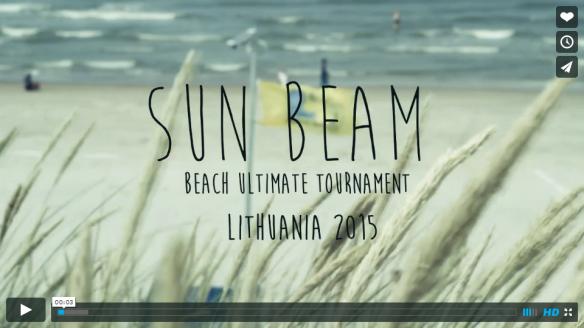 SUN BEAM 2015 video