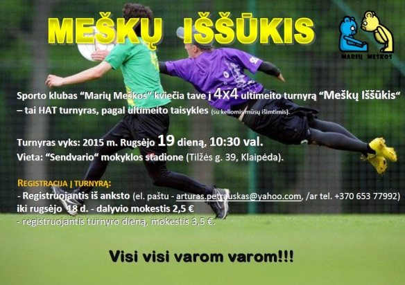 Mesku issukis hat 2015